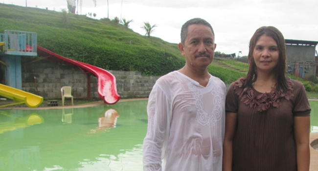 Hope Radio Listener Baptized