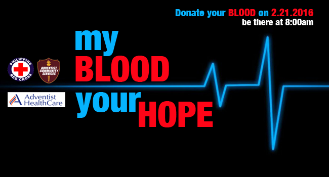 ACS:  My Blood, Your Hope